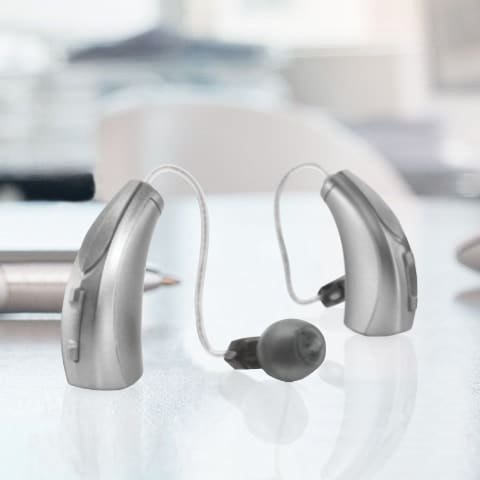 Starkey receiver-in-canal hearing aid
